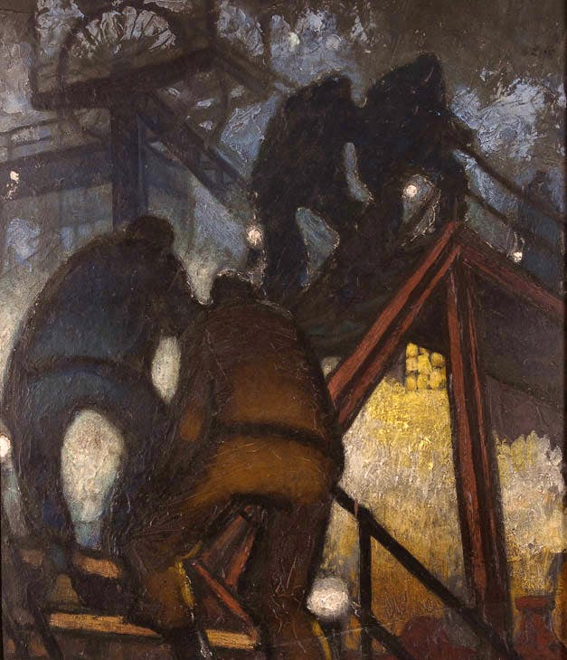 Men Going to the Shaft (1950), Norman Cornish