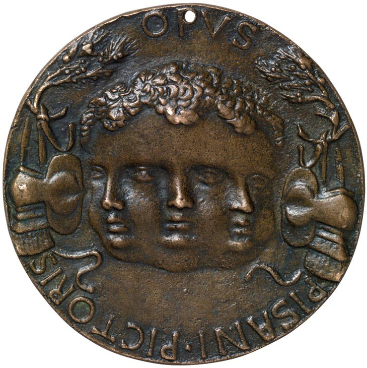 Portrait medal of Leonello d'Este obverse (early 1440s), Antonio Pisano called Pisanello. Benjamin Proust, around £6,500