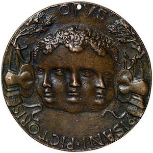Portrait medal of Leonello d'Este obverse (early 1440s), Antonio Pisano called Pisanello. Benjamin Proust, around £6,500