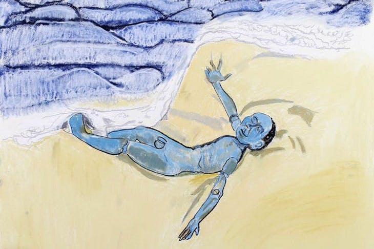 The Sky was Blue the Sea was Blue and the Boy was Blue (detail; 2007), Paula Rego. © Paula Rego, courtesy of Marlborough Fine Art