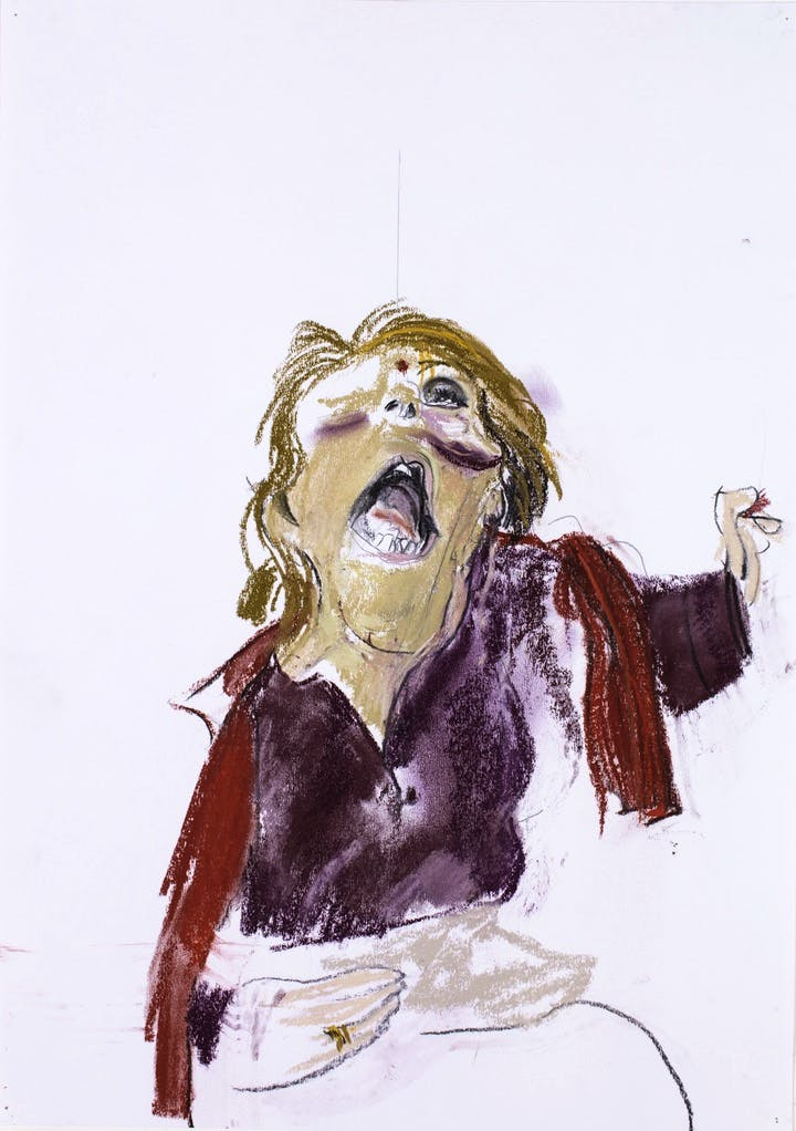 Self Portrait III (2017), Paula Rego. © Paula Rego, courtesy of Marlborough Fine Art