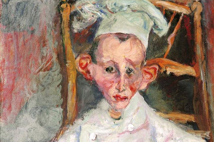 Pastry Cook of Cagnes (detail; 1922), Chaïm Soutine. © Courtauld Gallery
