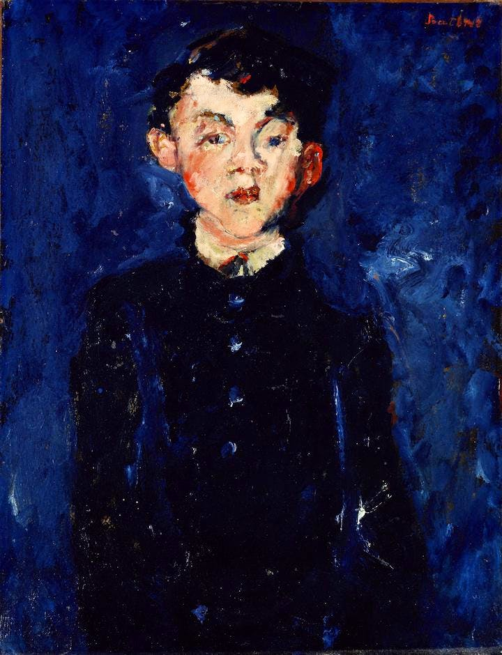 The Groom (c. 1928), Chaïm Soutine. © Courtauld Gallery