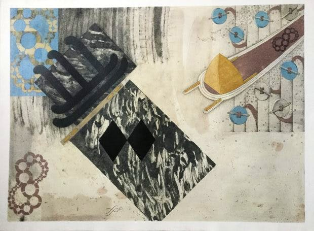 Elegy on Unwritten Paper, Frith Powell, © the artist