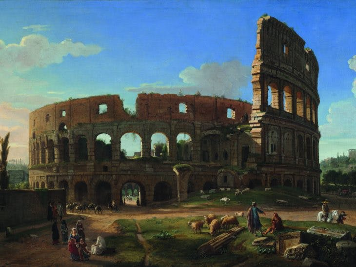 The Colosseum Seen from the Southeast, (c. 1700), Gaspar van Wittel, Harvard Art Museums/Fogg Museum, Photo: Imaging department; Harvard Art Museums/Fogg Museum. Photo: Imaging department; © President and Fellows of Harvard College