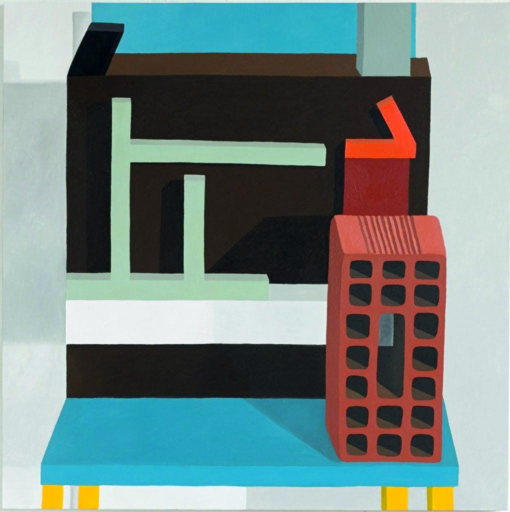 Still Life on a Chair, (2014), Nathalie Du Pasquier.