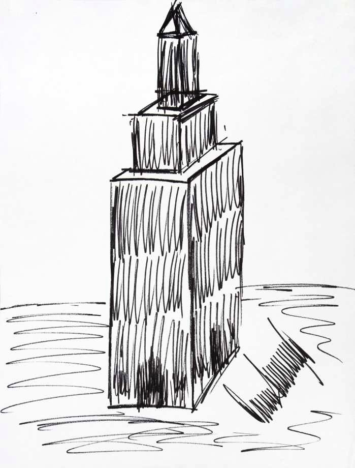 Dodging the draughtsman: Trump's drawing of the Empire State Building
