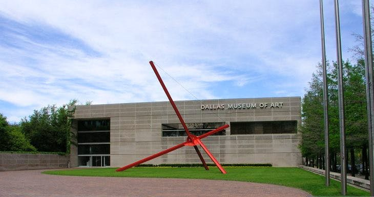 Dallas Museum of Art, Texas. Wikimedia Commons