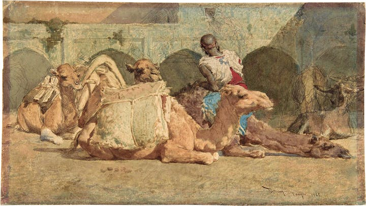The Camel Driver (1865), Mariano Fortuny. The Metropolitan Museum of Art, New York