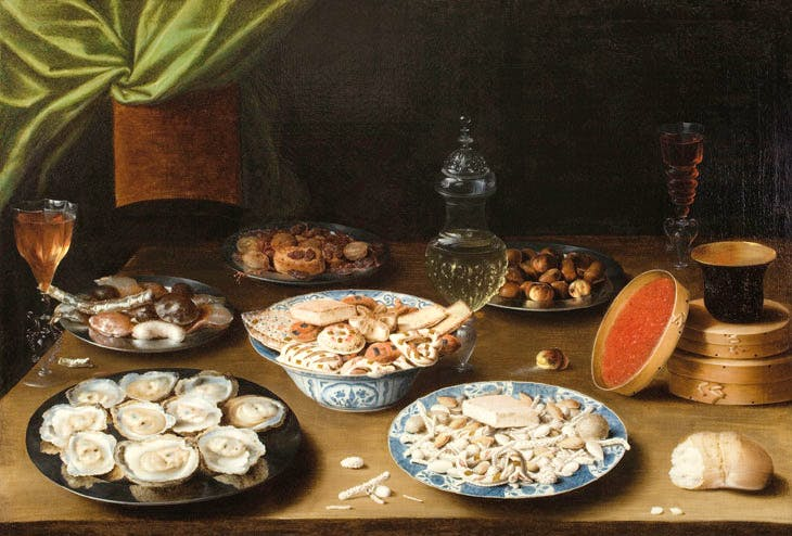 Still Life with Various Vessels on a Table (c. 1610), Osias Beert. Courtesy Museum of Fine Arts, Boston