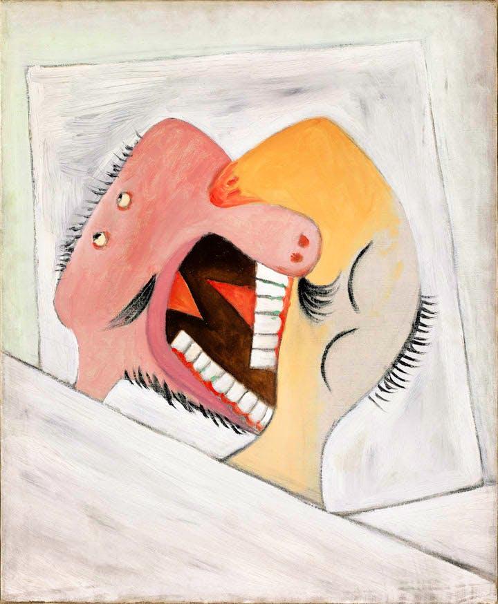 Le Baiser (1931), Pablo Picasso. Musée National Picasso, Paris © Succession Picasso 2017