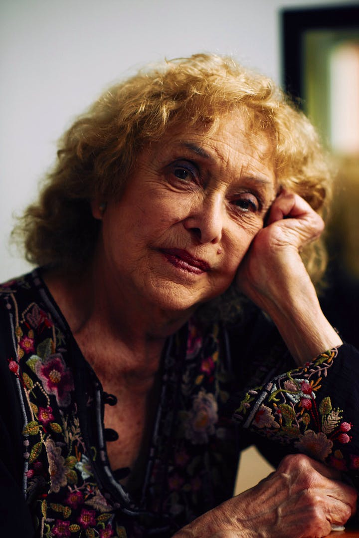 Carolee Schneeman. Photo: Benjamin McMahon