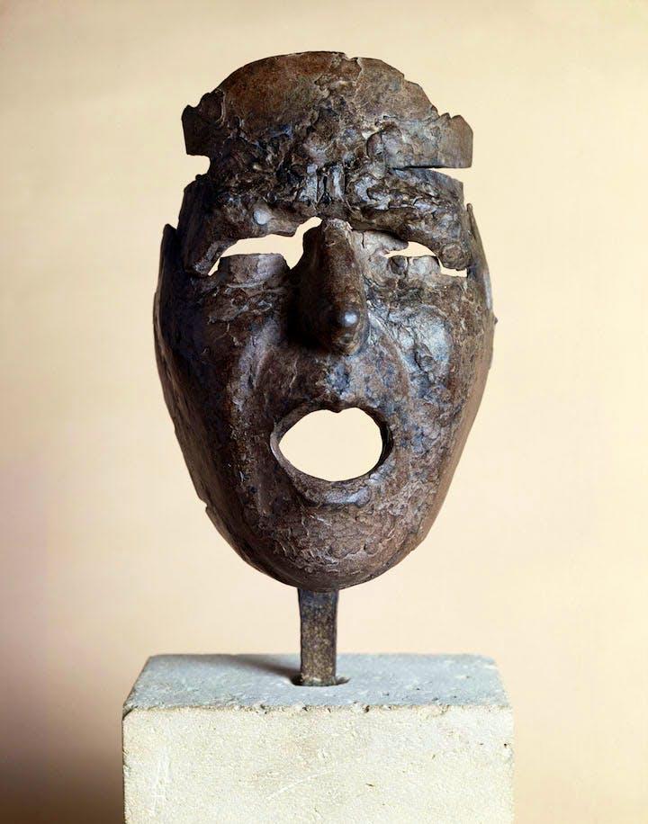 Masque de Montserrat criant (1938–39), Julio González. Centre Pompidou – Musée national d'art moderne