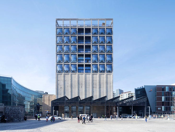 Zeitz MOCAA, designed by Heatherwick Studios. Photo: Iwan Baan