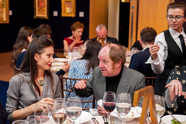 Apollo Awards 2017: Olga Donskova and Richard Wilson. © Anne Schwarz