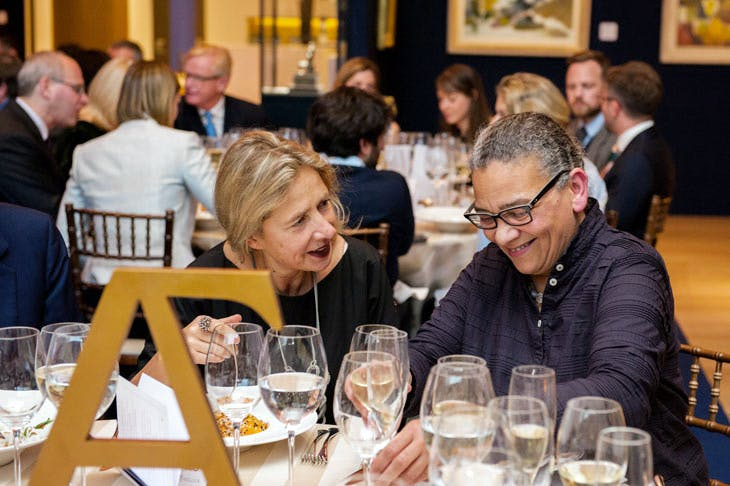 Apollo Awards 2017: Iwona Blazwick and Lubaina Himid. © Anne Schwarz