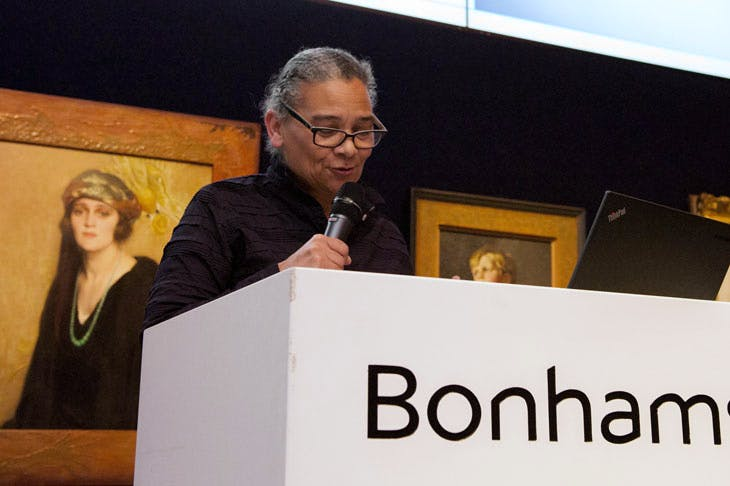 Apollo Awards 2017: Lubaina Himid, winner of the Artist of the Year category. Photo © Anne Schwarz