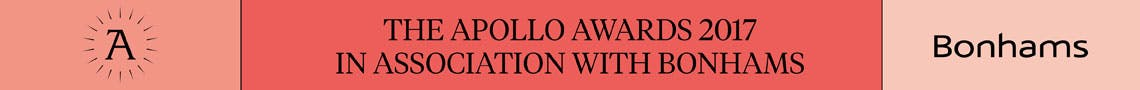 The Apollo Awards 2017 in association with Bonhams