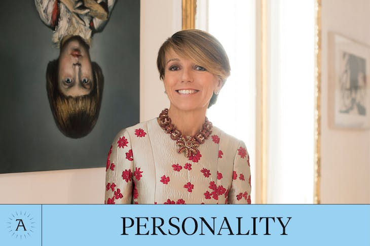 Personality of the Year - Apollo Awards 2017 - Patrizia Sandretto Re Rebaudengo