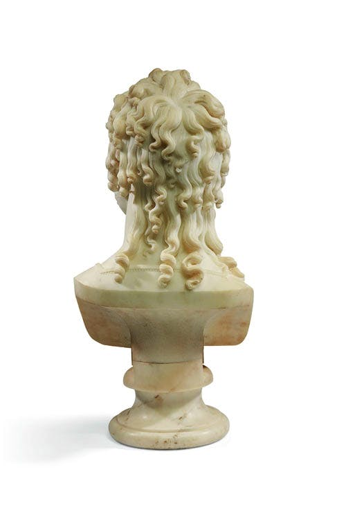 Bust of Joachim Murat (1813), Antonio Canova. Image courtesy Christie's