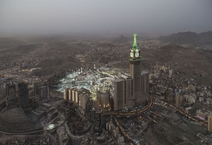 Clock Tower (Mecca Time) (2015), Ahmed Mater. Courtesy of the artist. © Ahmed Mater