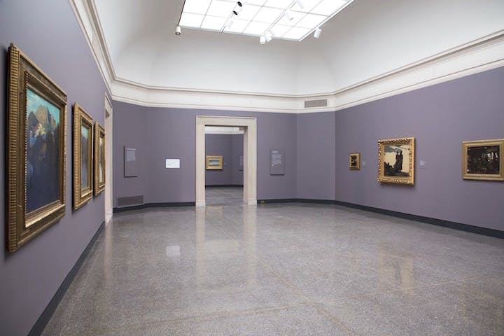 Installation view of the newly reopened galleries. Image courtesy the Freer|Sackler Museums