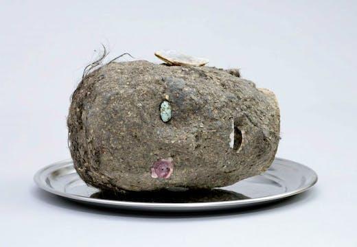 Head, (2006), Jimmie Durham