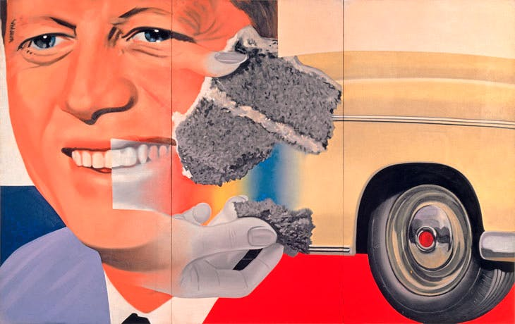President Elect (1960–61/1964), James Rosenquist. © Estate of James Rosenquist/VG Bild-Kunst, Bonn, 2017 Photo: Courtesy of the Estate of James Rosenquist