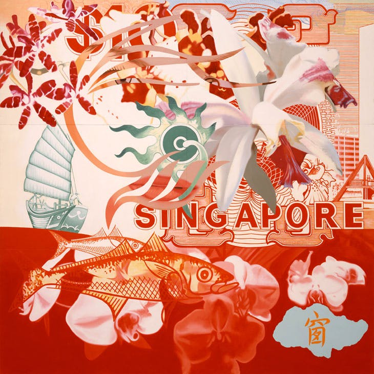 Untitled (Singapore) (1995), James Rosenquist. © Estate of James Rosenquist/VG Bild-Kunst, Bonn, 2017 Photo: Courtesy of the Estate of James Rosenquist