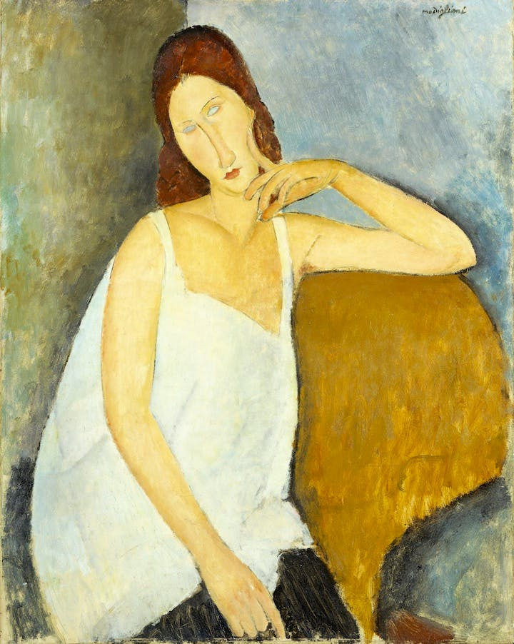 Jeanne Hébuterne (1919), Modigliani. The Metropolitan Museum of Art, New York