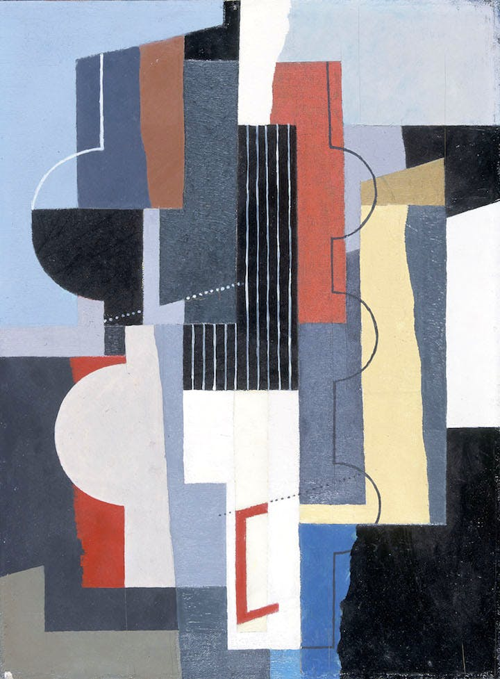 Painting (1935), John Piper. © The Piper Estate / DACS 2017. © National Museum of Wales