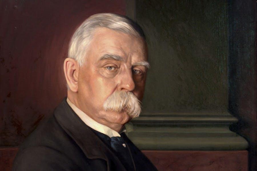 Portrait of John G. Johnson (1917), Conrad F. Haeseler. Philadelphia Museum of Art, gift of Miss Julia W. Frick and Sidney W. Frick