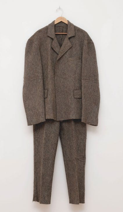 Felt Suit (1970), Joseph Beuys (1921–86).