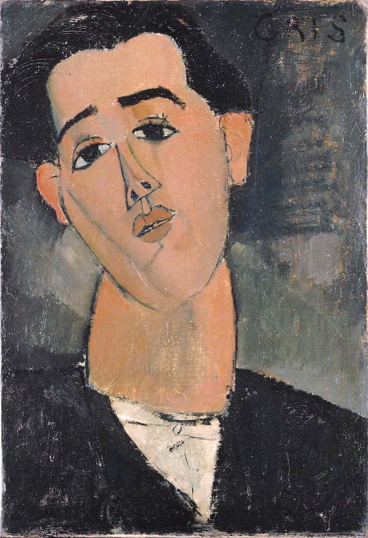 Juan Gris (1915), Modigliani. The Metropolitan Museum of Art, New York