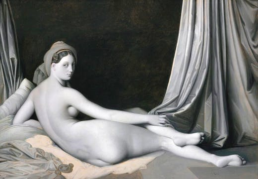 Odalisque in Grisaille (c. 1824–34), Jean-Auguste-Dominique Ingres and workshop. © The Metropolitan Museum of Art / Art Resource / Scala, Florence