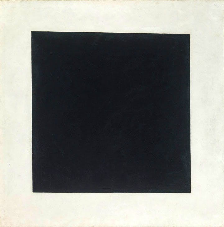 Black Square (1929), Kazimir Malevich. © The State Tretyakov Gallery, Moscow