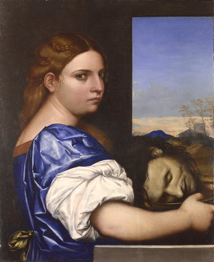 Judith (or Salome?) (1510), Sebastiano del Piombo. National Gallery, London