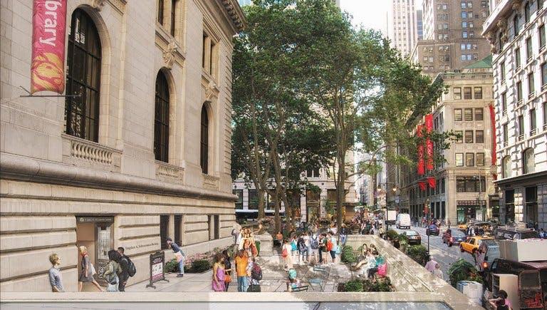 New York Public Library. Mecanoo with Beyer Blinder Belle