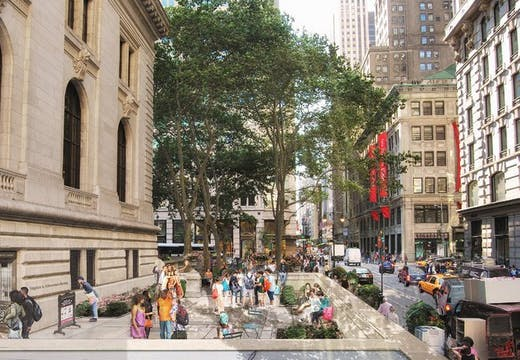 New York Public Library. Mecanoo with Beyer Blinder Belle