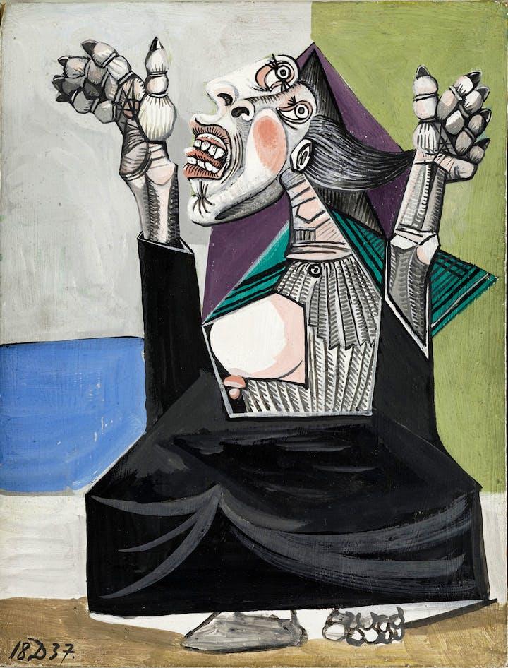 La Suppliante (1937), Pablo Picasso. Musée National Picasso, Paris © Succession Picasso 2017
