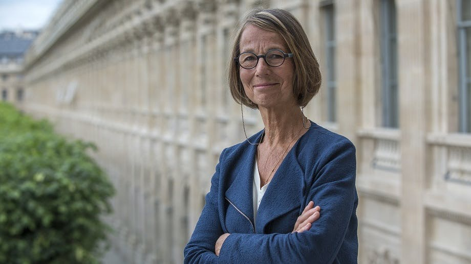 French culture minister Françoise Nyssen.