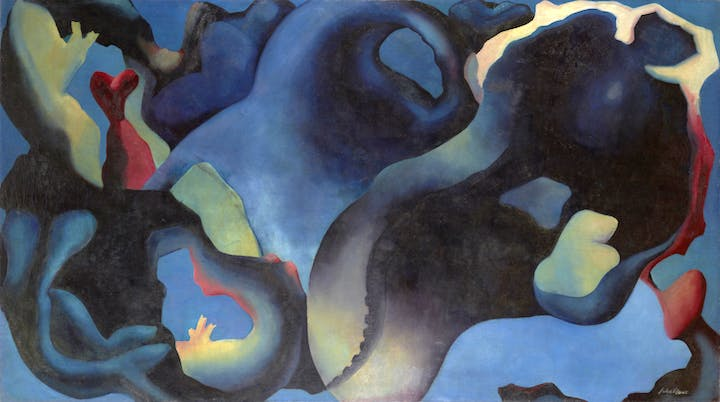 A Point in Time (c.1929/37), William Johnstone. © Estate of William Johnstone Image: Antonia Reeve