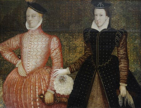 Henry Stuart, Lord Darnley and Mary, Queen of Scots, (c, 1565), British (Scottish) School.