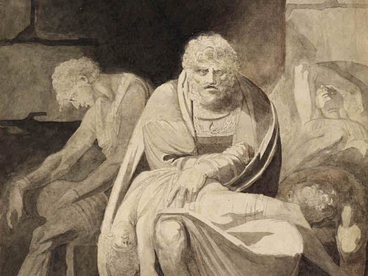 Ugolino and His Sons Starving to Death in the Tower (detail; 1806), Henry Fuseli. Courtesy of The Art Institute of Chicago