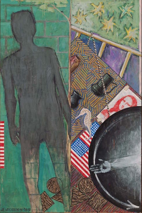 Summer (1985) Jasper Johns. Museum of Modern Art, New York