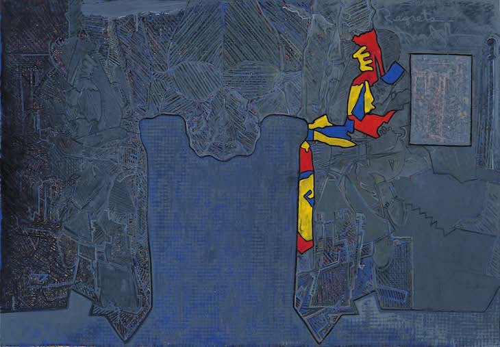Regrets (2013), Jasper Johns.