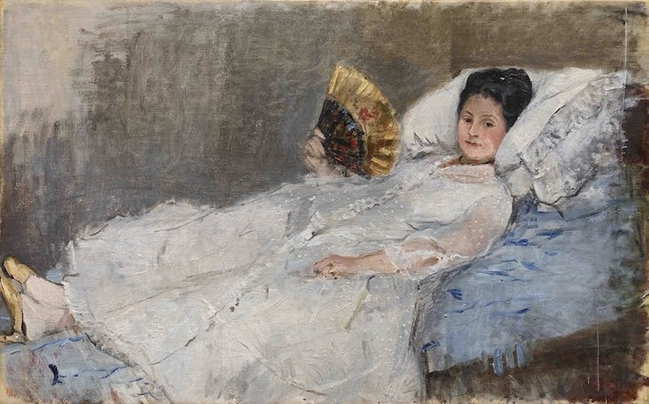 Portrait of Madame Marie Hubbard (1874), Berthe Morisot (1841–95) © Ordrupgaard Collection, Copenhagen.