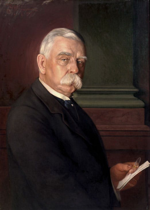 Portrait of John G. Johnson (1917), Conrad F. Haeseler. Philadelphia Museum of Art, gift of Miss Julia W. Frick and Sidney W. Frick