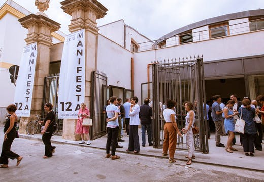 Teatro Garibaladi in Palermo, which in July 2017 opened its doors for the pre-biennial programme 'Waiting for Manifesta 12'. © Manifesta 12, 2017. Photo by CAVE Studio
