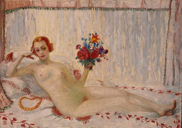A Model (Nude Self-Portrait) (1915), Florine Stettheimer
